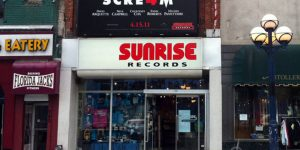Sunrise Records on Yonge Street