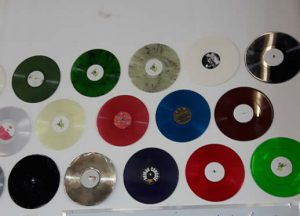 Wall of Change Over Discs