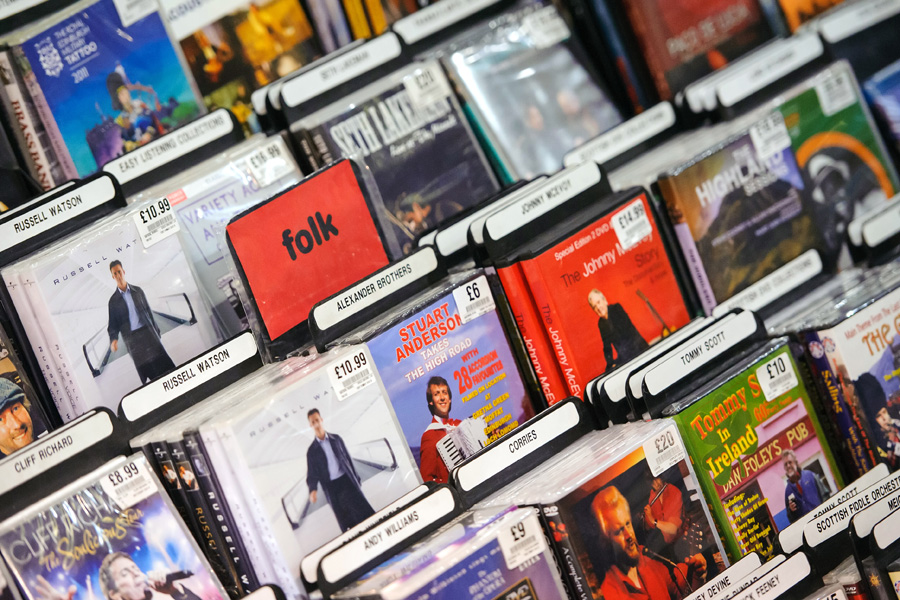 Best Buy Is Discontinuing The Sale Of Cds But Will Still