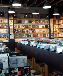 11th Street Records Interior